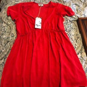 Show Me your MuMu - Red Austin Dress